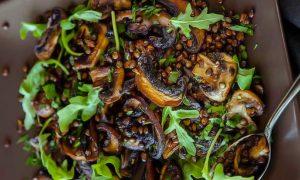Funghi porcini e lenticchie